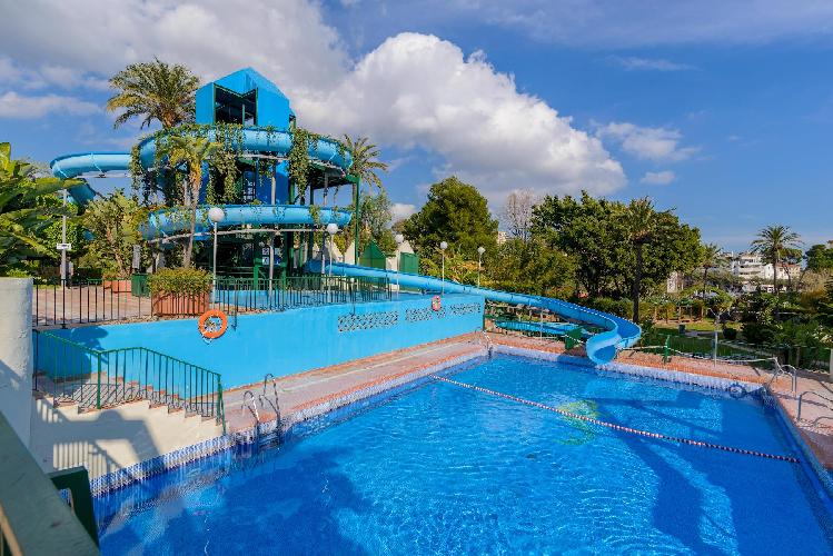 Benal Beach 327 - First Line 1BR Apartment in Resort with Water park