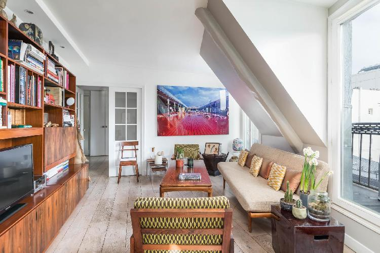 air and sunny Louvre – Opéra - Rue du Sentier II luxury apartment