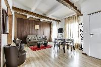 2-bedroom Paris luxury apartment with blend of contemporary design and ancient arts