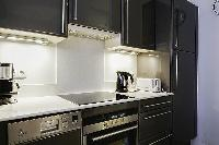 cool modern kitchen of Saint Germain des Prés - Dragon I luxury apartment