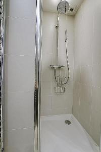 cool shower area in Saint Germain des Prés - Dragon I luxury apartment