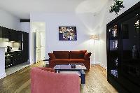 awesome sitting area in Saint Germain des Prés - Dragon I luxury apartment