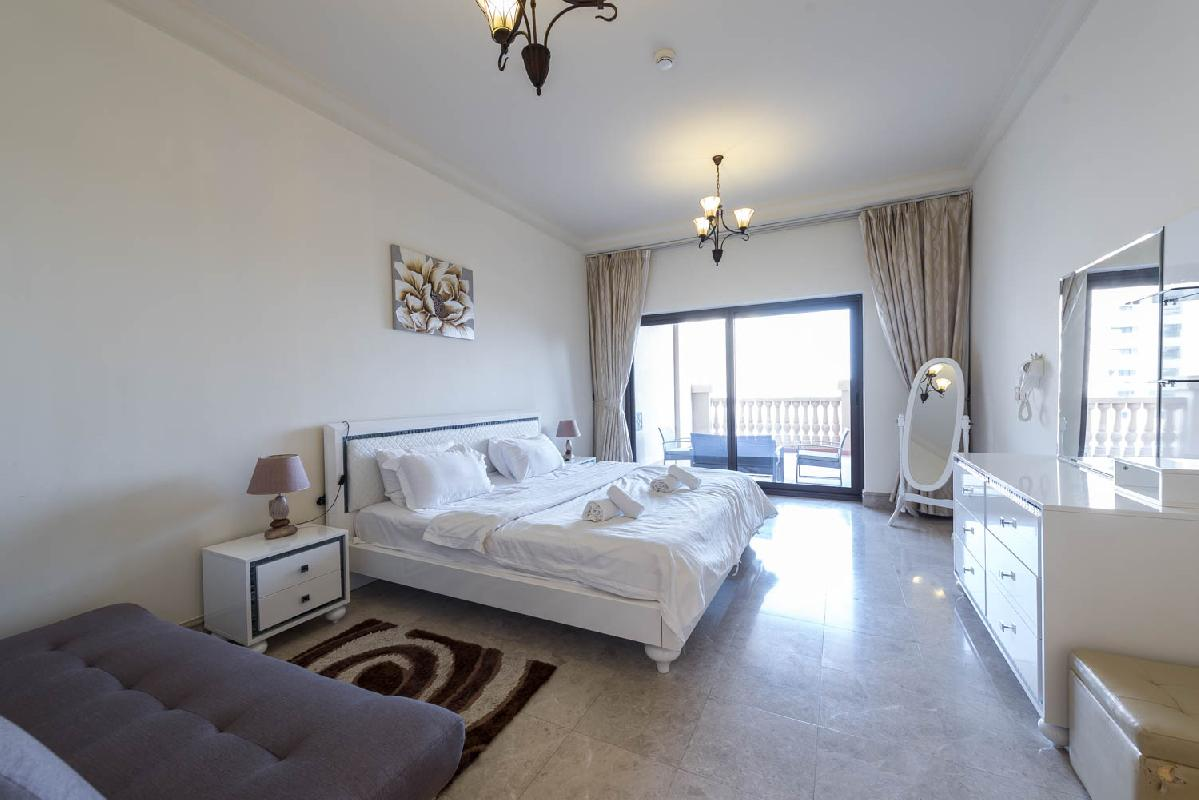 Classy & Cozy   1 BR Apartment   Fairmont South Palm Jumeirah