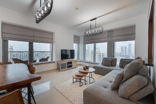 Spectacular Burj Khalifa & Fountain View | 2 BR | 29 Boulevard