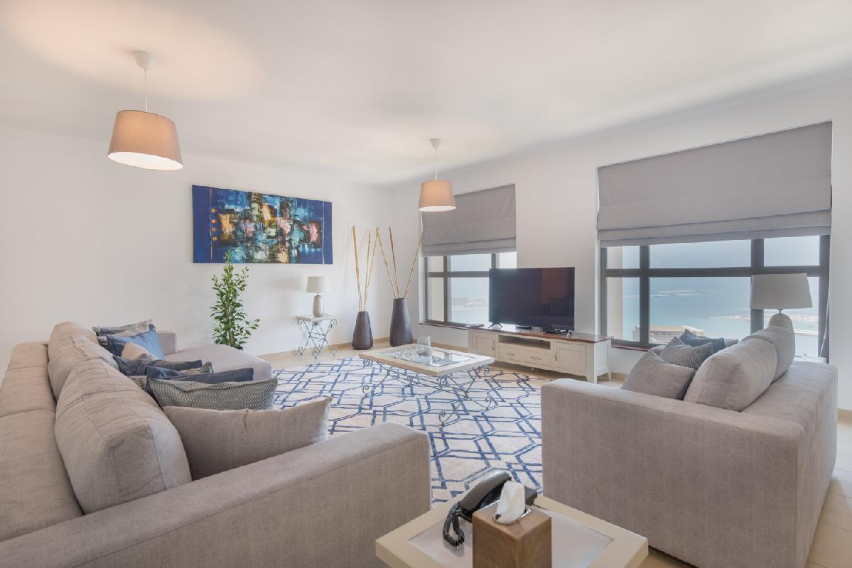Stunning Marina & Sea View Apartment   4 BR   Murjan 6