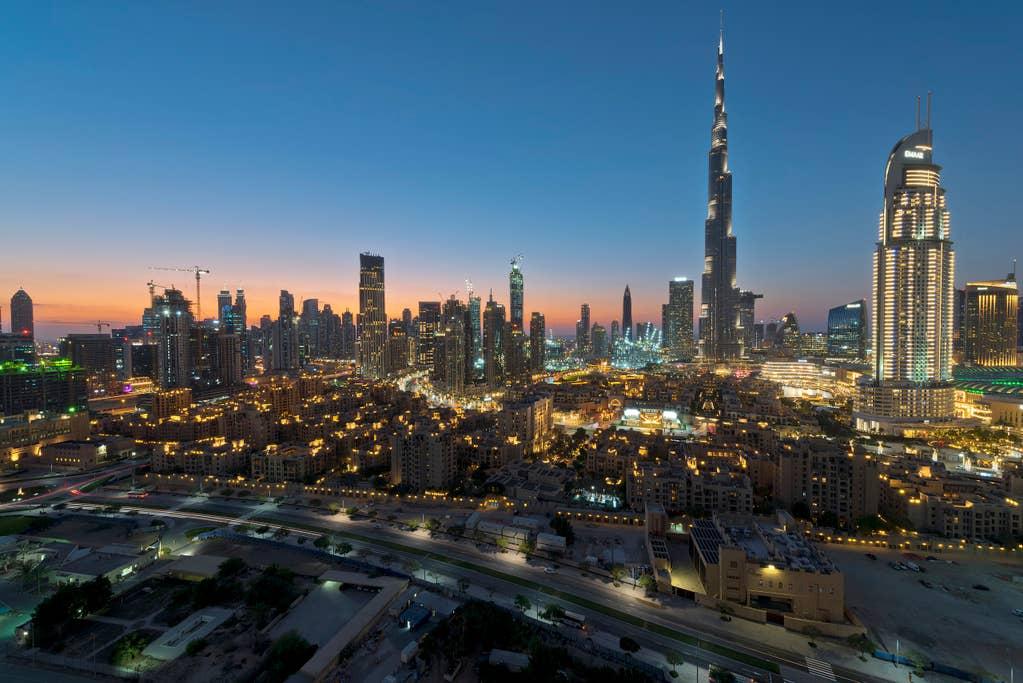 Panoramic Burj Khalifa View Apartment   2 BR   Burj Views Tower