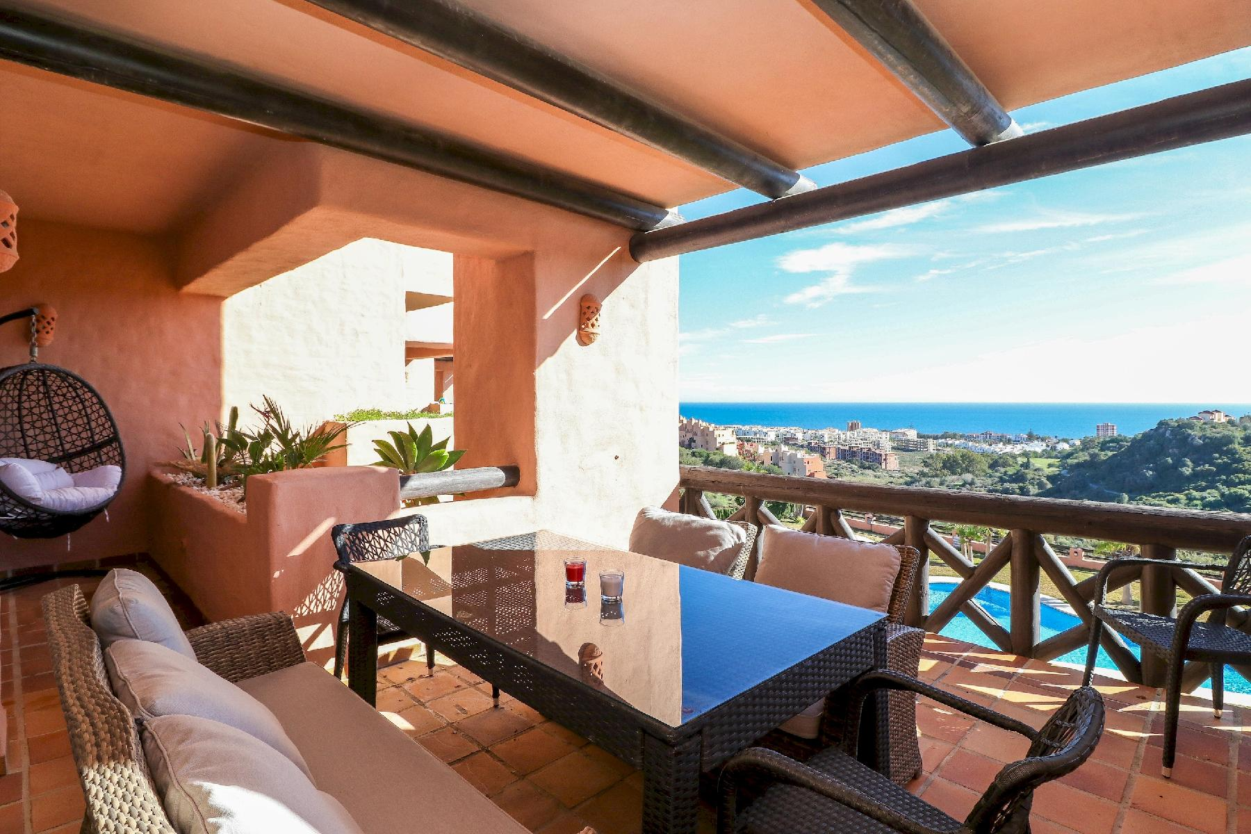 Coto Real Milos by Rafleys - Stunning 2BR Apartment in Manilva, Sea Views, Pool