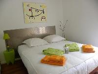 cozy bedroom of Corsica - Ajaccio Loft luxury apartment