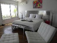 neat and nice bedroom of Corsica - Ajaccio Loft luxury apartment