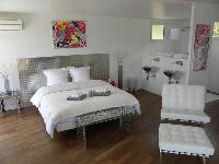fresh and clean bedding in Corsica - Ajaccio Loft luxury apartment