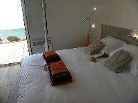 clean and fresh bedding in Corsica - Ajaccio Loft luxury apartment