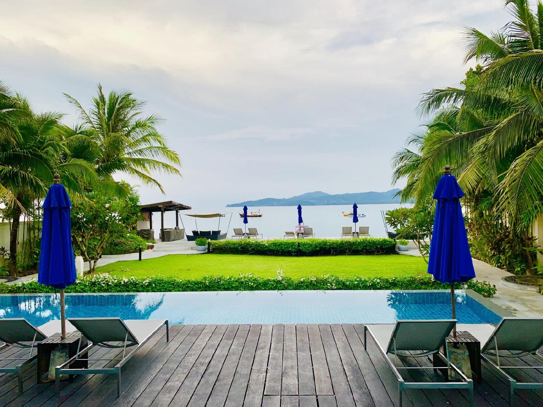 BangTao Beachfront seaview pool, walk to beach!