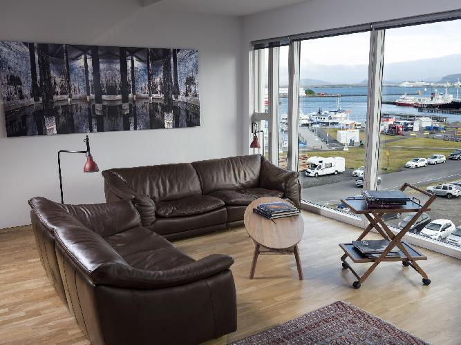 Luxury apartment with a view of the harbour