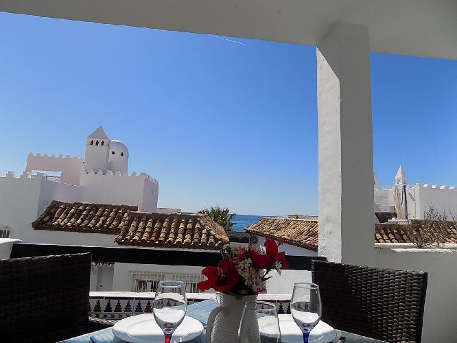 Playa Lucera - ground floor apartment with sea views CS126