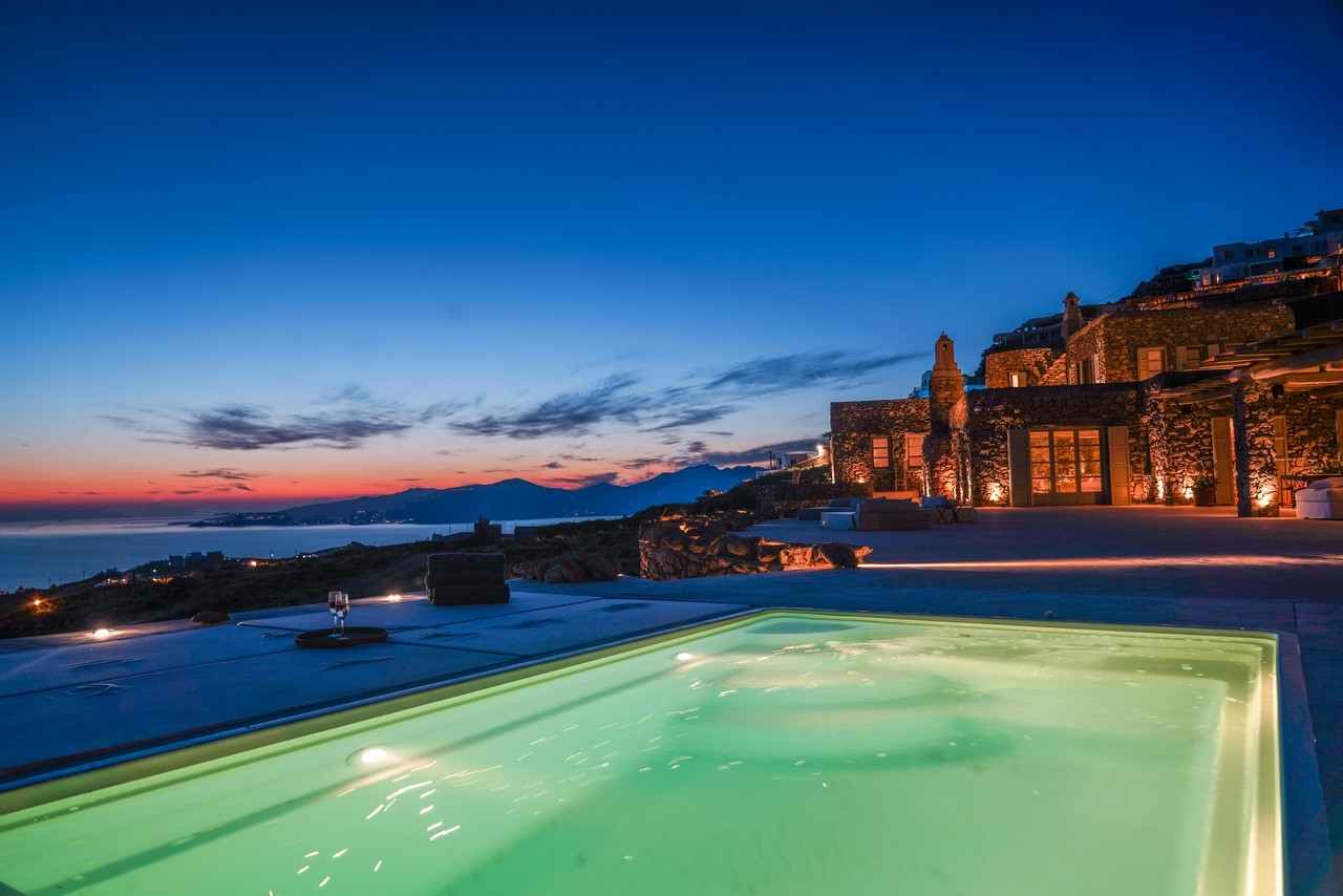 Villa Sandstone, beautiful stone built villa with amazing sea and sunset view by Elite Estates.