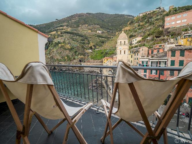 Lassù Apartment with Terrace in Vernazza