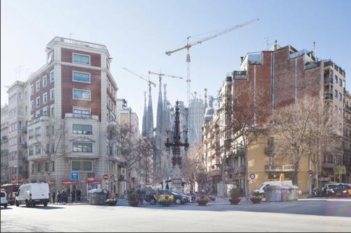 (GA2772)BARCELONA| BIG AND BRIGHT APT| SAGRADA FAMILIA ¤