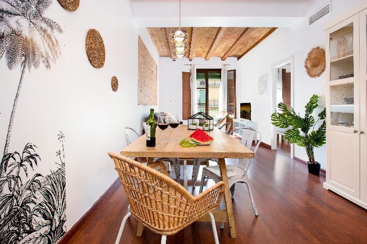 (GI108)BARCELONA|CHARMING 3 BEDROOM APT IN CITY CENTRE¤