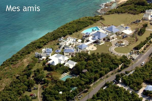 amazing Caribbean Saint Martin Mes Amis luxury holiday home, vacation rental