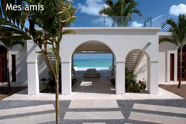 perfect Caribbean Saint Martin Mes Amis luxury holiday home, vacation rental