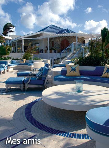 splendid Caribbean Saint Martin Mes Amis luxury holiday home, vacation rental