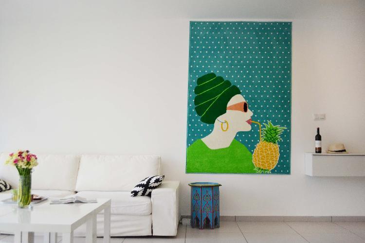 Appartement Blanche | Tel Aviv | Neve Tzedek | Pines St. | Elegant 2BR | #N12