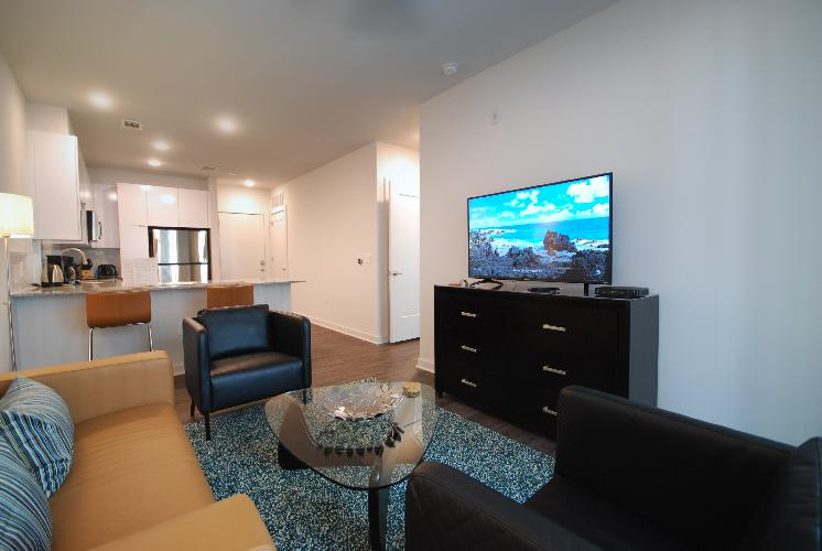 Spectacular Suite 2BR/2BA Apt. (B) - Includes Bi-weekly Cleanings & Linen Change
