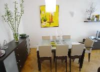 delightful dining area in Passy - Paul Doumer luxury apartment