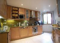 delightful kitchen of Passy - Paul Doumer luxury apartment