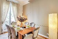 awesome dining area in Victor Hugo IV luxury apartment