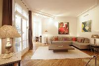 nice living room of Passy - Raynouard II luxury apartment