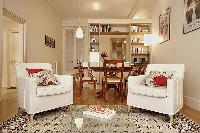 comfortable and down-to-earth atmosphere living area, kitchen, dining area, bathroom, and one bedroo