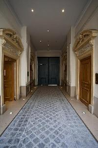 hallway in a 2-bedroom Paris luxury apartment