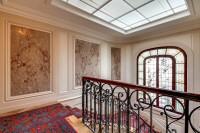 elegant stairs  in a 2-bedroom Paris luxury apartment
