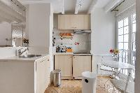 delightful kitchen of Notre Dame - Colbert Suite luxury apartment