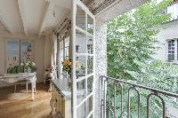 cool balcony of Notre Dame - Colbert Suite luxury apartment