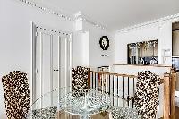 cool chairs in Saint Germain des Prés - Luxembourg Suite luxury apartment