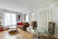 awesome living room of Saint Germain des Prés - Luxembourg Suite luxury apartment