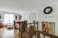 delightful dining room of Saint Germain des Prés - Luxembourg Suite luxury apartment