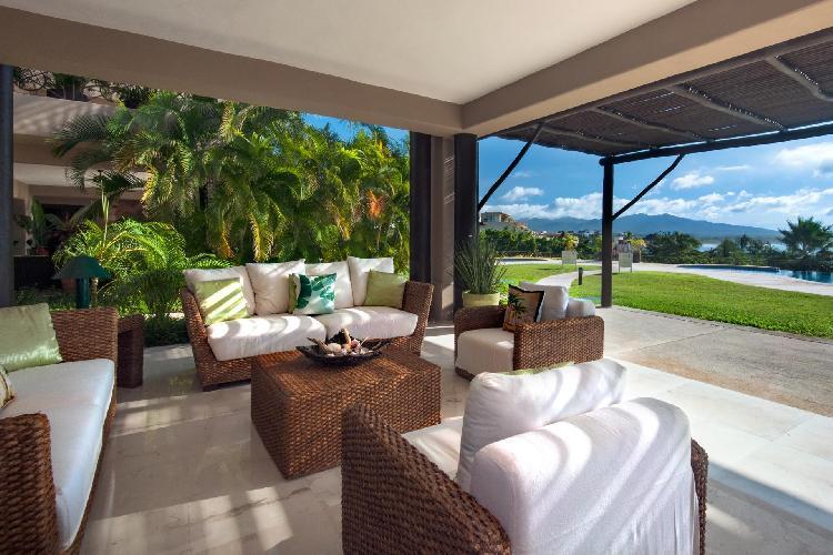 New to Market, Fantastic View of Coastline/Surf Break Ground Floor Punta Mita in Incredible Beachfront Complex