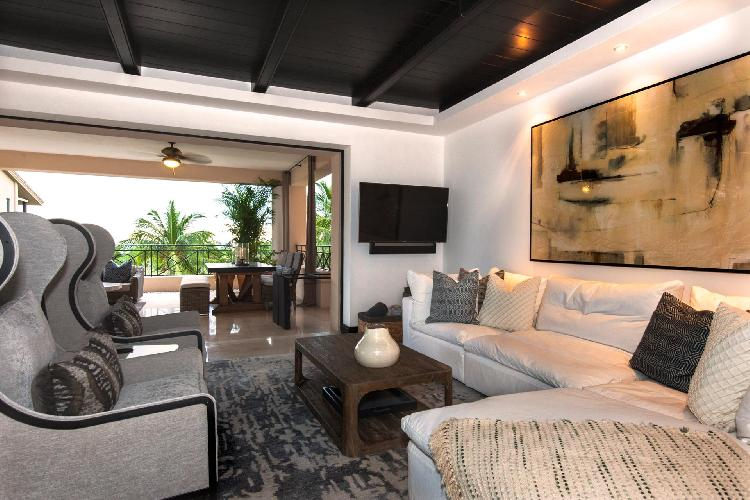 Luxury Condo with Panoramic Ocean Views in Mita's Gated Community.