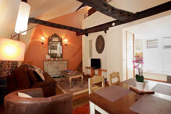 charming 2-bedroom Paris luxury apartment