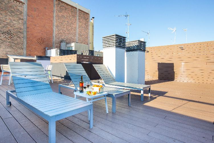 (PELPBB)BARCELONA BEACH | BRIGHT APT | ROOFTOP TERRACE ¤
