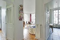 stylish 3-bedroom Paris luxury apartment