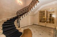 extravagant stairs in a 3-bedroom Paris luxury apartment