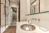 nice lavatory in Saint Germain des Prés - Luxembourg Guynemer luxury apartment