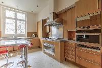 modern kitchen of Saint Germain des Prés - Luxembourg Guynemer luxury apartment