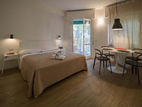 Il Giardino di Ada Ground Floor Studio with AC and Patio