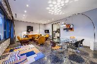 spacious living room of Tour Eiffel - Trocadero Albert de Mun