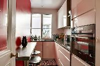 awesome kitchen of Passy - Trocadero I luxury apartment